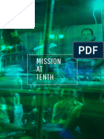 Mission at Tenth Inter-arts Journal Volume 6