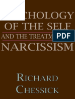 Psychology of the Self and the Treatment of Narcissism