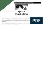 Testez vos connaissances en marketing