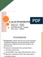 Alat Evaporator