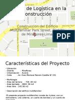 Gestión de Logística en La Construcción