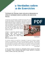 Mitos ou Verdades sobre a Prática de Exercícios Físicos.docx