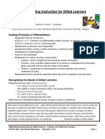 differentiating for gifted learners 1