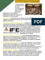 Estado Mexicano y definiciones