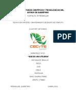 Colegio de Estudios Científicos y Tecnológicos Del Estado de Querétaro