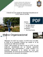Creación de una Unidad de Tecnología Educativa en el IUTET