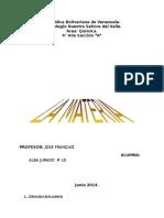 Trabajo Sobre La Estructura de La Materia Alba 4 Año