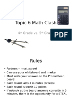 topic 6 math game
