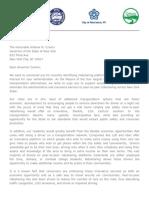 Upstate NY Mayors Ridesharing Letter to Gov Cuomo