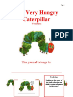 The Very Hungry Caterpillar WebQuest Journal