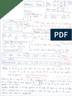 Fisica Formulas y examenes resueltos