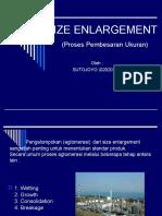 Size Enlargement b