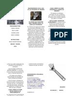 Manejo Seguro de Las Maquinas y Herramientas de Manteniento en El Sector de Producion de La Leche