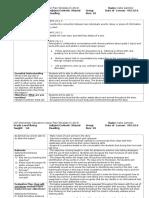 3rd supervisor observation lesson plan