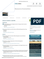 Marine Resource Economics_ Home