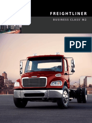 2007 FREIGHTLINER M2 BUSINESS CLASS MBE 900 OWNERS MANUAL SET