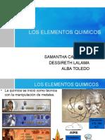 Expo 6 Elementos Químicos- Energía