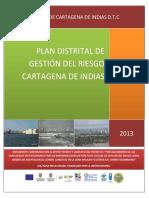 Plan Distrital Gestion Riesgo v2 2013