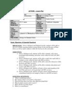 Webquest Lesson Plan
