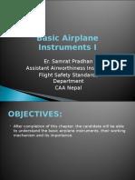 Basic Airplane Instruments