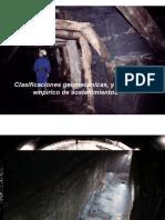 2-Clasificaciones Geomecanicas, GSI y Tablas de Sostenimiento