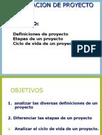 Definicion y Analisis de Proyecto
