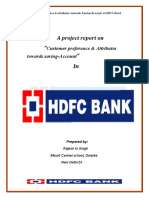 HDFC Bank (Summer project)