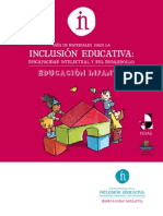 Guía de materiales para la inclusion educativa en Infantil