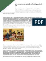 """""""Solution para los proveedores de cuidado infantil guarder?a por Geoffrey Kenned"""