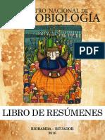 Libro de Resúmenes Encuentro Nacional de Etnobiologia