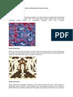 Materi Kliping Tentang Batik