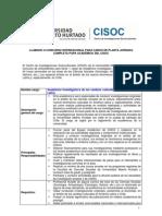 Llamado a concurso académico_investigador senior CISOC_2010