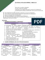 Taller Segundo Parcial Patologia General y Medica Inflamacion