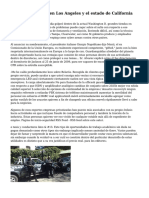 Vigilancia privada en Los Angeles y el estado de California
