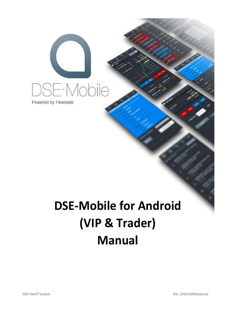Online Trading System : Dse