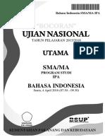 Bocoran Soal UN Bahasa Indonesia SMA IPA 2016 [Pak-Anang.blogspot.com]