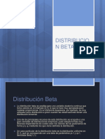 Distribución beta
