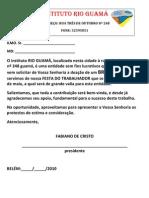 OFICIO DE PEDIDO