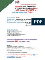 Microsoft 70-486 Dumps PDF Offer