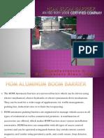 Boom Barrier HYDRAULIC