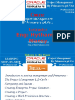 Project Management by Primavera