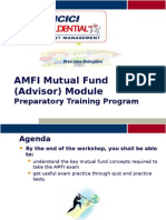AMFI Prep Training 2008