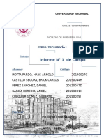 Topografía - cartaboneo