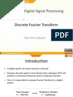 M11 - Discrete Fourier Transform