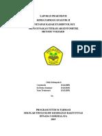 Laporan Etambutol HCl Kel 6