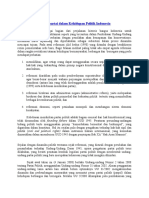 Dampak Sistim Multipartai Dalam Kehidupan Politik Indonesia