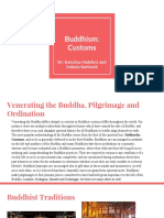 buddhism customs