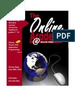 2010 Online Academy Summer School Program