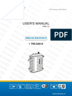 Tenda TWL5401A User Manual