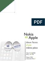 Nokia et Apple, deux faces d'une même pièce